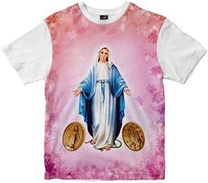 Camiseta N Senhora das graças Rainha do Brasil
