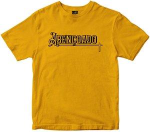 Camiseta Abençoado amarela Rainha do Brasil