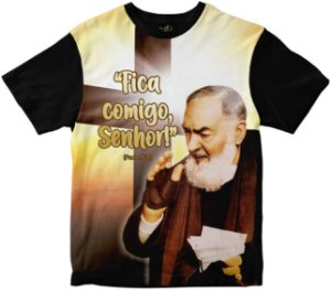 Camiseta São Padre Pio Rainha do Brasil