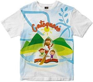 Camiseta Catequese Rainha do Brasil