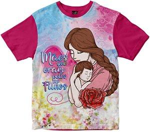Camiseta Mães que oram pelos Filhos Rainha do Brasil