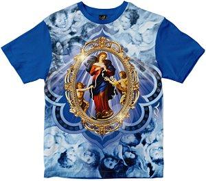 Camiseta N. Senhora Desatadora dos Nós Rainha do Brasil