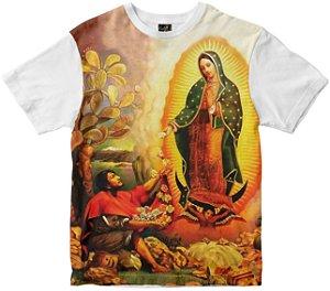 Camiseta N Senhora de Guadalupe Rainha do Brasil