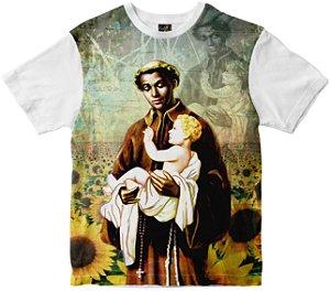 Camiseta São Benedito Rainha do Brasil