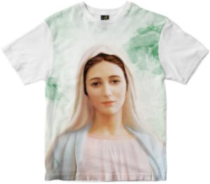 Camiseta N. Sra. Rainha da Paz Rainha do Brasil