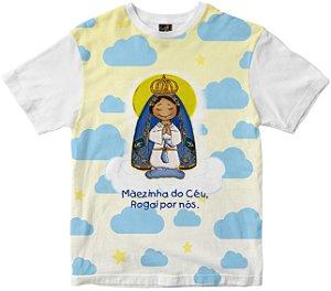 Camiseta Mãezinha do Céu Rainha do Brasil