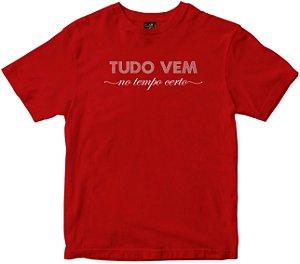Camiseta Tudo vem no tempo Rainha do Brasil