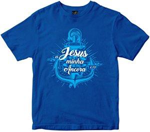 Camiseta Jesus Minha Âncora Rainha do Brasil