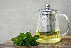Bule com Infusor de Chá - Inox