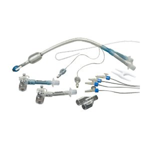 Sonda Endobronqueal Duplo Lúmen, PVC, SEM Gancho de Carina (tipo RobertShaw) da Electroplast - Unidade