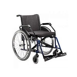 Cadeira de Rodas Poty, até 120kg cor vinho