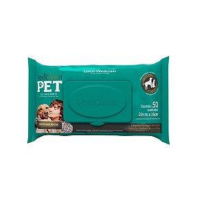 Lenços Umedecidos - FeelClean Pet (50 unidades)