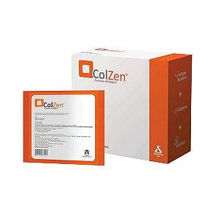 Curativo Biológico Antimicrobiano com Colágeno, Alginato e Nitrato de Cério ColZen -  Unidade