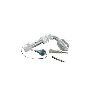 Cânula para Traqueostomia com Balão Ajustável (Longa - tipo Safetyclear/ Telescopada)