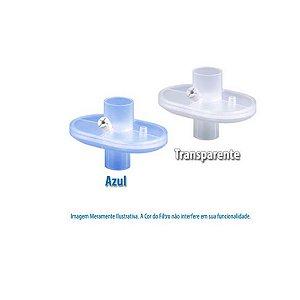 Filtro Barreira Bacterial e Viral Eletrostático Hidrofóbico com Conexão Reta