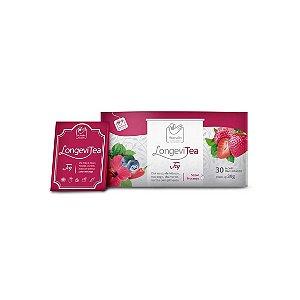 Chá Estimulante Natural LongeviTea Joy -  Caixa com 30 Sachês
