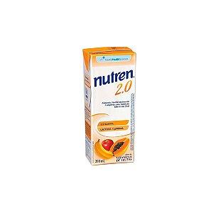 Nutren 2.0 Cal, Vitamina de Frutas de 200ml da Nestlé - Unidade