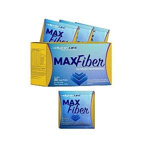 MaxFiber - Polidextrose Inulina e Fruto oligossacarídeos em Pó, 30 Sachês