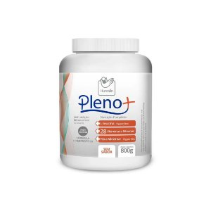 Pleno +, Nutrição Completa Hiperproteica de 800g da Humalin - Unidade