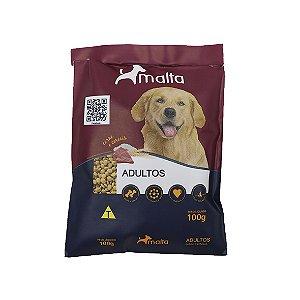 Ração Malta para Cães Adultos, sabor Carne e Cereais – 100g
