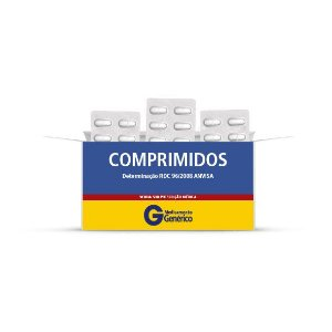 Captopril 25mg - 30 comprimidos