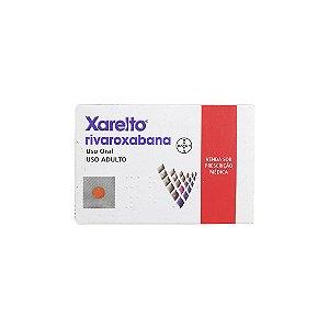 Xarelto 20mg da Bayer - 30 Comprimidos