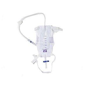 Bolsa Urina Sistema Fechado Perna - 500ml
