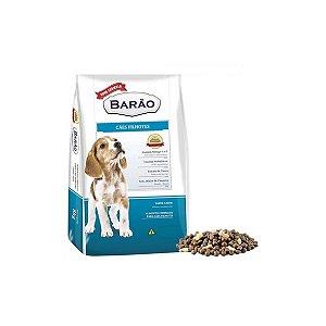 Ração Barão Premium Cães Filhotes - Carne