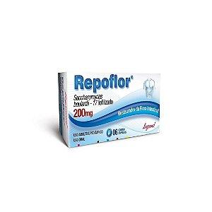 Repoflor 200mg da Legrand - 06 cápsulas