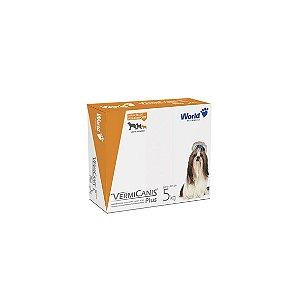 VermiCanis 400mg, Vermífugo para Cães até 5 Kg - 04 comprimidos