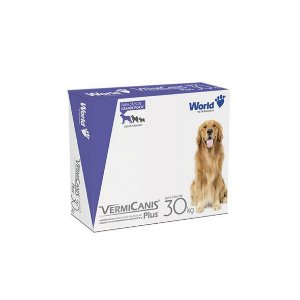 VermiCanis 2,4g, Vermífugo para Cães até 30 Kg - 2 Comprimidos
