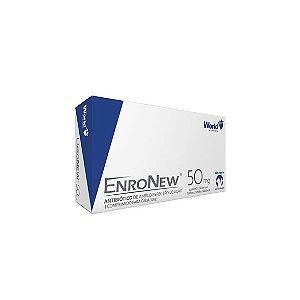 Enronew 50mg, Antibiótico para Cães até 10 Kg - 10 Comprimidos
