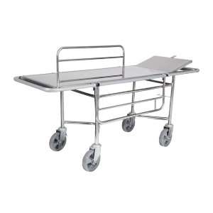 Carro Maca Hospitalar de Aço Inox - Unidade
