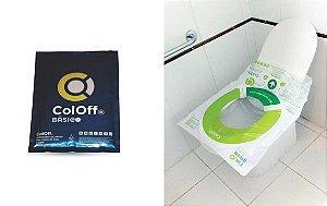 Coletor de Fezes e Urina ColOff® Modelo Básico - Caixa 100 Unidades