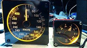 Combo com dois produtos: Speed Indicator + Flaps Indicator. Compre os dois e economize!