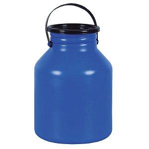 Vasilhame para Transporte de Leite 10 litros Azul