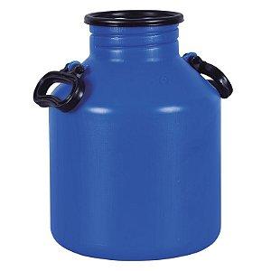 Vasilhame para Transporte de Leite 15 litros Azul