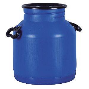 Vasilhame para Transporte de Leite 30 litros Azul