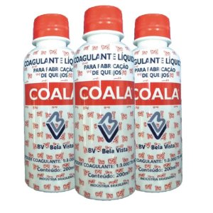 Kit com 03 Coagulante Coala 200 ML