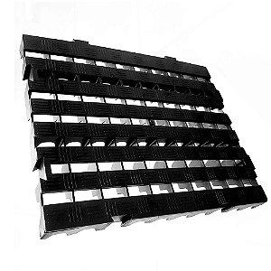 Estrado Plástico 40 X 50 X 4,5 PRETO