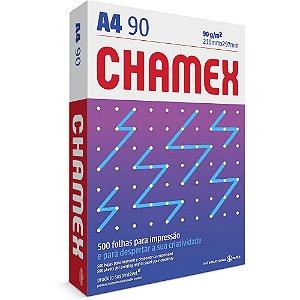 Papel sulfite Chamex A4 90g 210mmx297mm Ipaper PT 500 FL
