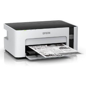 Impressora Tanque de Tinta Ecotank Monocromática M1120, Wireless, 2 Garrafas de Tintas Inclusas - Epson CX 1 UN