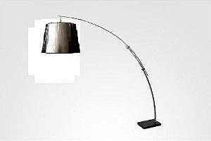 Luminária flexível prata