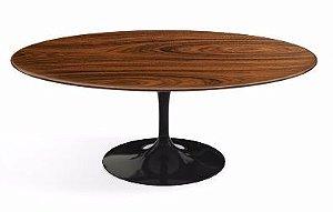 Mesa de jantar Saarinen oval pau ferro