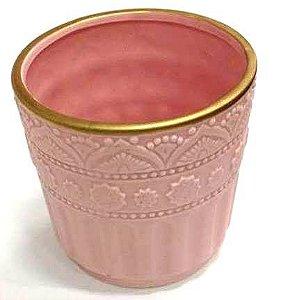 Cachepot rosa