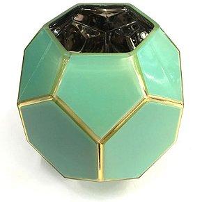 Vaso art verde pastel