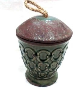 Vaso de cerâmica alto