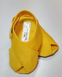 Sandalinha Cruzada Amarela