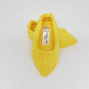 Sapatinho Biquinho Amarelo