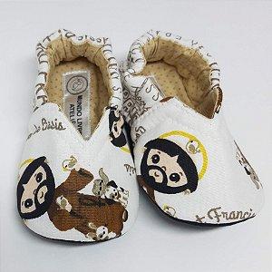 Coleção Santinhos - Sapatinho Pantufinha São Francisco